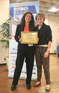 EEE Photonics Italy Prize for the Best Doctoral Thesis awards 2017
